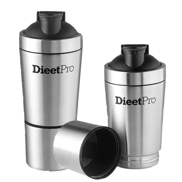 DieetPro RVS Shaker 1