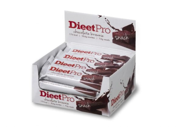 DieetPro Snack Chocolate Brownie 1