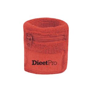 DieetPro zweetbandje met rits 6