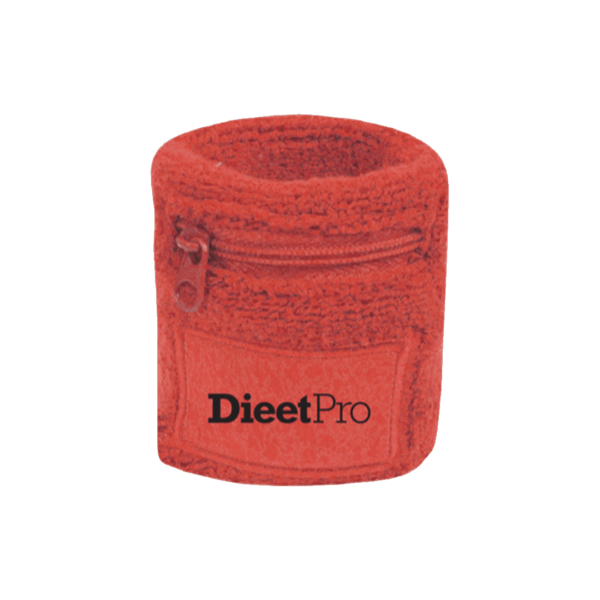 DieetPro zweetbandje met rits 1