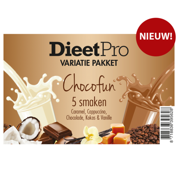 DieetPro Variatiepakket ChocoFun 1