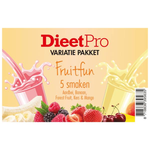 DieetPro Variatiepakket FruitFun 1