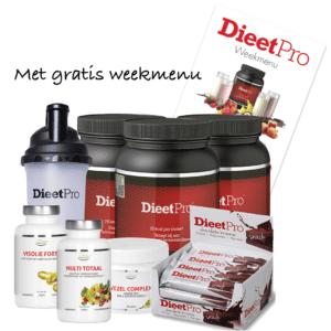 DieetPro RVS Shaker pakket 7