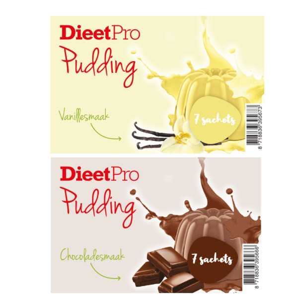 DieetPro Puddingbox (7 sachets) 1