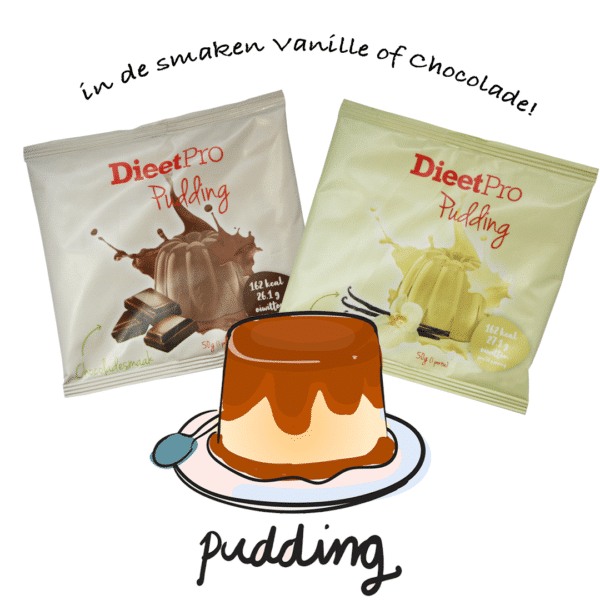 DieetPro Pudding sachet 1