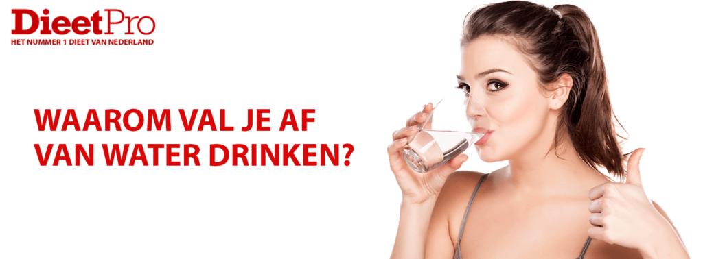 Waarom val je af van water drinken? 1