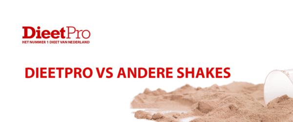 DieetPro vs andere shakes 3